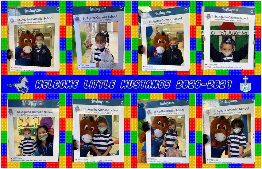 Welcome Little Mustangs!!! School yr 2020-2021